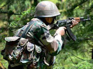 काश्मीरमध्ये २ आतंकवादी ठार