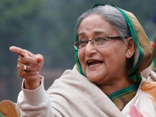 रोहिंग्या मुसलमानांच्या प्रश्नावरून शेजारी देश युद्धजन्य स्थिती निर्माण करत आहे ! – बांगलादेशच्या पंतप्रधान शेख हसीना