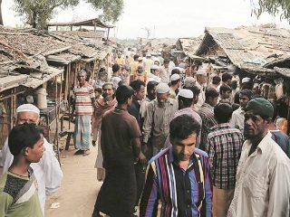 बांगलादेशमध्ये आतापर्यंत ५ लाख ८२ सहस्र रोहिंग्या मुसलमान आश्रित
